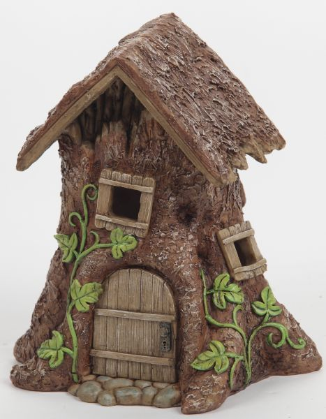 Light up tree stump house for How to make illuminated tree stumps